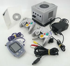 Nintendo GameCube, Game Boy Player, GBA & Controllers - Tested