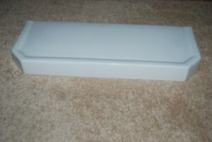 """Case ROBINSON ILL White Toilet Tank Lid """"38"""" from 1937 - EX. COND. & SANITIZED"""