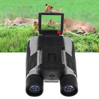 FS608 Digital Camera DVR Binoculars 12x32 5MP Full HD Optical Telescope Foldable