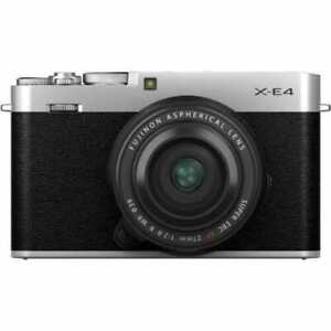 New Fujifilm X-E4 + 27mm f2.8 WR - Silver