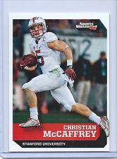 "CHRISTIAN McCAFFREY 2016 SI ""1 OF 9"" COLLEGE ROOKIE CARD! STANFORD! HEISMAN!"