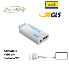 WII HDMI Adattatore per Nintendo WII Convertitore Video Audio HD 1080P WII2HDMI