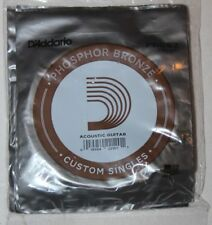 D'ADDARIO  5  Cordes Guitare Acoustique  - Phosphore Bronze - PB052