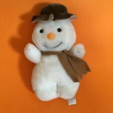 "Vintage The Snowman Raymond Briggs Mini Christmas Plush Soft Toy Doll 6"" Tall"