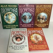 Complete Promethea Graphic Novel Series by Alan Moore 5 Vol HB Set ALL 1st Print