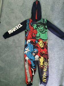 Marvel Hooded All In One