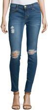 CURRENT/ELLIOTT the ankle skinny Blakely Destroy blue jeans Size 24 / UK 6 VGC