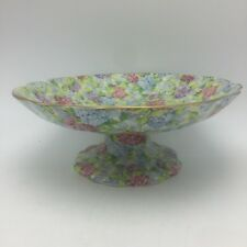 James Kent Chintz Hydrangea Staffordshire Compote