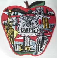 OLD DEFUNCT NYC TRANSIT POLICE CWPS CITY WIDE PATROL SERVICE APPLE PATCH NY