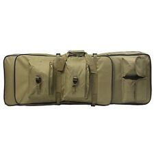 "38"" Rifle Carrying Bag - Tan (Tactical Range Hunting Airsoft M4 AK47 AR15) New"