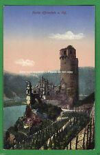 Zwischenkriegszeit (1918-39) Kleinformat Lithographie mit Burg & Schloss