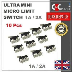 Mini Micro Limit Switch Ultra Small 1A or 2A Leve type 3D Printer PACK OF 10
