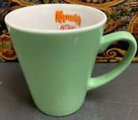 Kahlua Green Anything Goes Coffee Mug Cup 1999 Mint Green RARE Collectible