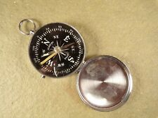 Vintage Camping Pocket Watch Style Compass by Academy Made in Japan