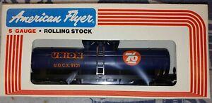 American Flyer by Lionel #4-9101 Union Oil Tank Car, NIB (F27)