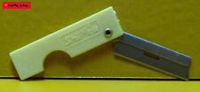 THE BLADE - Rasieklinge mit Halter - GELB - razor blade holder - NEU - TOP -