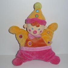 Doudou Clown Nicotoy - Jaune Orange