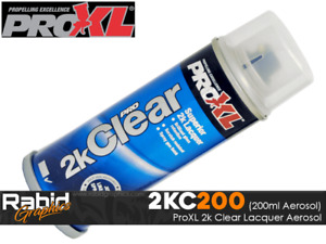 ProXL 2K Clear Lacquer Aerosol Motorcycle Cars - Petrol Resistant (200ML) PRO XL