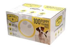 Entrenador de formación Pads Baño Grande Cachorro Pee Wee Esteras Perro Gato 100 Pack