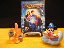 The Socerer's Apprentice DVD & Figurines combo