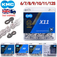 KMC 6/7/8/9/10/11 Speed 116L Chain MTB Bike Cassette Sprocket Fit Shimano SRAM