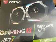 MSI NVIDIA GeForce GTX 1660 Super Gaming X 6GB GDDR6 Graphics Card