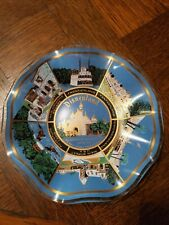 Vintage Disneyland Theme Park Fluted/Ruffled Plate/Candy Dish/Ash Tray