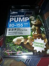 New listing Smart Pond Submersible Fountain or fish tank Water pump 120 Gph 120 v