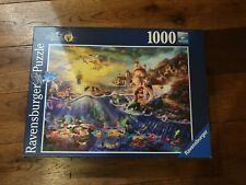 Ravensburger 1000 piece Jigsaw Puzzle Disney Little Mermaid Ariel used VGC