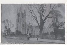 Croydon Parish Church Alumino Postcard, B481