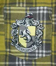 BNWT Ladies Primark Checked HarryPotter Hufflepuff ShortsPJs MediumUK Size 12-14