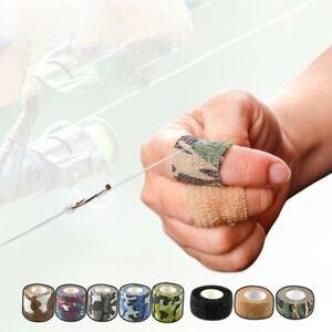 1* 4.5/4.6m Self-Adhesive Elastic Bandage Sports Knee Finger Athletic Wrap Tapes