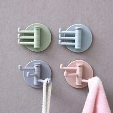 Rotatable Strong Bearing Stick Hook Kitchen Wall Hanger Bathroom Kitchen Ho LI