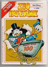 Carl Barks ZIO PAPERONE N. 100 Walt Disney Company Italia 1998