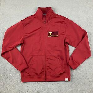 Nike Men's Long Sleeve Full Zip Jacket Medium University Of Southern California