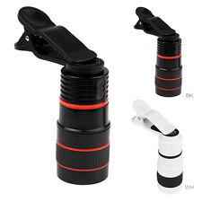 Objectif Photo Zoom 8x lentille Télescope Caméra Clip-Lens Pr Télé Smartphone NF