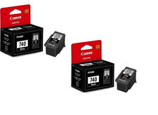 GENUINE CANON PIXMA TWIN PACK PG 740XL INK CARTRIDGE FOR MG2170/MG3170/MG4170