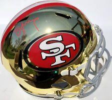 b56c24488 STEVE YOUNG SIGNED SAN FRANCISCO 49ERS CHROME F S FOOTBALL HELMET PSA DNA