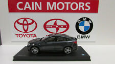 BMW X4 series F26 Sophisto Grey 1/18th Factory BMW Diecast