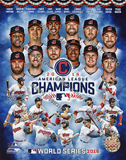 Cleveland Indians 2016 American League Champions Composite 8x10 Team Photo