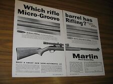 1959 Print Ad Marlin Semi-Automatic .22 Rifles New Haven,CT