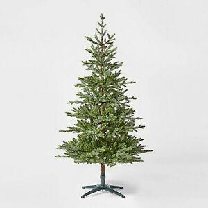 5.5ft Unlit Artificial Christmas Tree Green Indexed Balsam Fir - Wondershop