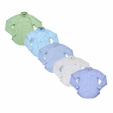 Ralph Lauren женские Оксфорд рубашка с длинными рукавами воротник топ на пуговицах блузка новая