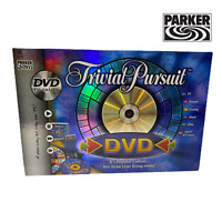 Trivial Pursuit DVD/TV Games Edition by Parker - Board Game. -Complete-