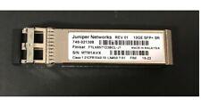 Juniper Networks EX-SFP-10GE-SR SFPP-10GE-SR 10GE SFP+SR transceiver.