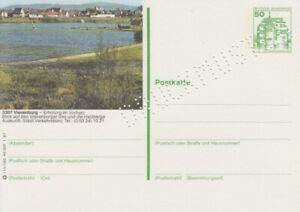P 134  Bildpostkarte  Druckmuster   Vienenburg  Harz   **