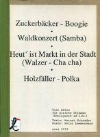 Heinz Lemmermann, Vier Sätze für gleiche Stimmen, Zuckerbäcker-Boogie u.a.
