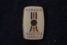 Romania Romanian Industria Chimica Chemical Industry Association Badge Pin