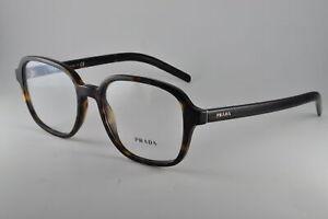 Prada Eyeglasses PR08XV 2AU1O1 Havana, Size 54-19-145