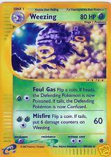 "Poke'Mon "" Foil Card 70/165 * ! Weezing"